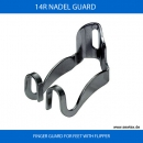 14R NADEL GUARD f�r 2 Nadel N�hmaschinen - FINGER GUARD FOR FEET WITH FLIPPER