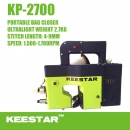 Portable ultraleichte Sacknähmaschine Keestar KP-2700 Bag closing machine new Model 2015