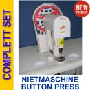 Nietmaschine BUTTON MASCHINE Metallschnellverschlüss Snap button machine Model SK808
