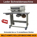 AK20 Riemenschneidemaschine Gürtelschneidemaschine Leather Strap Cutting Machine