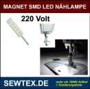 Magnetisch SMD 5 LED N�HLAMPE F�R JUKI BROTHER PFAFF SIRUBA Etc.