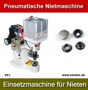 Pneumatische Einsetzmaschine für Nieten Snap Button Riveting Machine Model PP1
