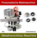 Pneumatische Einsetzmaschine für Nieten Snap Button Riveting Machine Model PP3