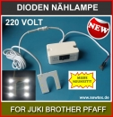 Magnetisch SMD 6 LED's LAMPE F�R JUKI BROTHER PFAFF SIRUBA Etc.