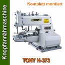 TONY H-373 Knopfannähmaschine Button sewing machine-Komplett