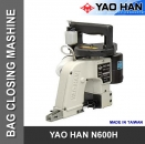 High Speed YAO HAN N600H-230V Sacknähmaschine made in Taiwan