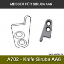 Messer für Siruba AA6 - A702 Movable knife for Siruba model AA-6 bagstitch machine