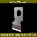 "B2702-047-A00+ BUTTONHOLE KNIFE 11/16"" FOR JUKI - BUTTONHOLE KNIFE 11/16"" FOR JUKI"