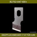 "B2702-047-I00+KNOPFLOCHMESSER 7/16"" FÜR JUKI - BUTTONHOLE KNIFE 7/16"" FOR JUKI"