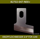 "B2702-047-N00+KNOPFLOCHMESSER 3/4"" FÜR JUKI - BUTTONHOLE KNIFE 3/4"" FOR JUKI"