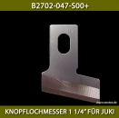 "B2702-047-S00+KNOPFLOCHMESSER 1 1/4"" FÜR JUKI - BUTTONHOLE KNIFE 1 1/4"" FOR JUKI"