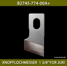 "B2745-774-00A+ KNOPFLOCHMESSER  1 3/8"" FOR JUKI - BUTTONHOLE KNIFE 1 3/8"" FOR JUKI"