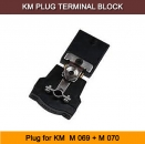 KM Terminal Block M 069 + M 070 Plug Connector for KM M-069+M-070+