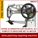 New Generation shoe patching repairing machine Alternative zur ADLER Kl. 30-1