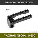 FEED DOG FOR N600A BAG CLOSER, Transporteur für YaoHan N600A, für 26-1 alle Marken