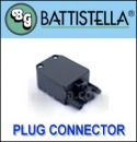 Battistella Plug connecting iron with steam generator