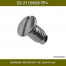 SS-2110920-TP+ SCHRAUBE FOR JUKI DU-1181 - SCREW FOR JUKI DLN-415