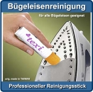 Universeller Reinigungsstick für Bügeleisensohlen Universal stick for cleaning iron's foot
